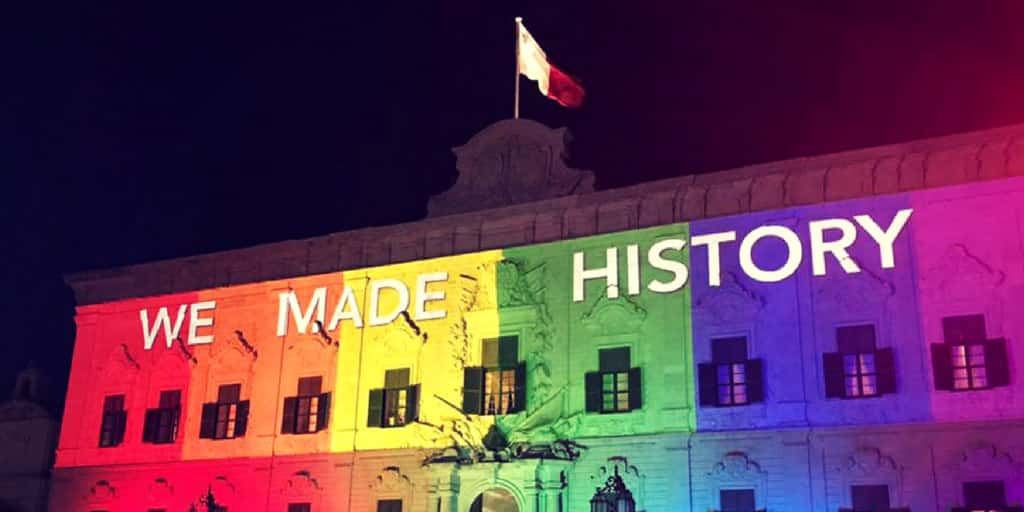 Valletta has been awarded for LGBT destination of the year