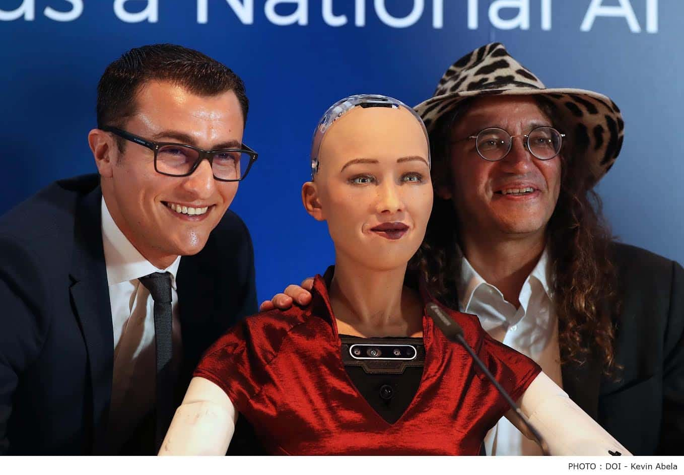 Sophia the robot spoke Maltese
