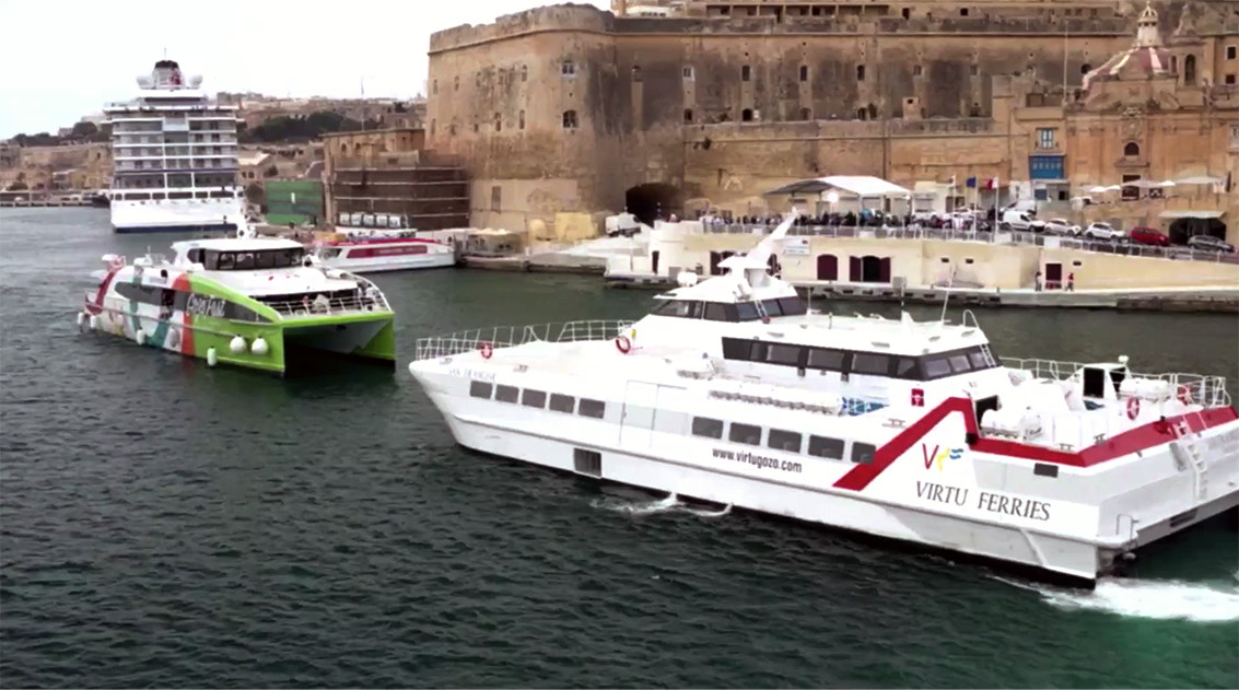 New Ferries from the Grand Harbour to Mgarr Gozo